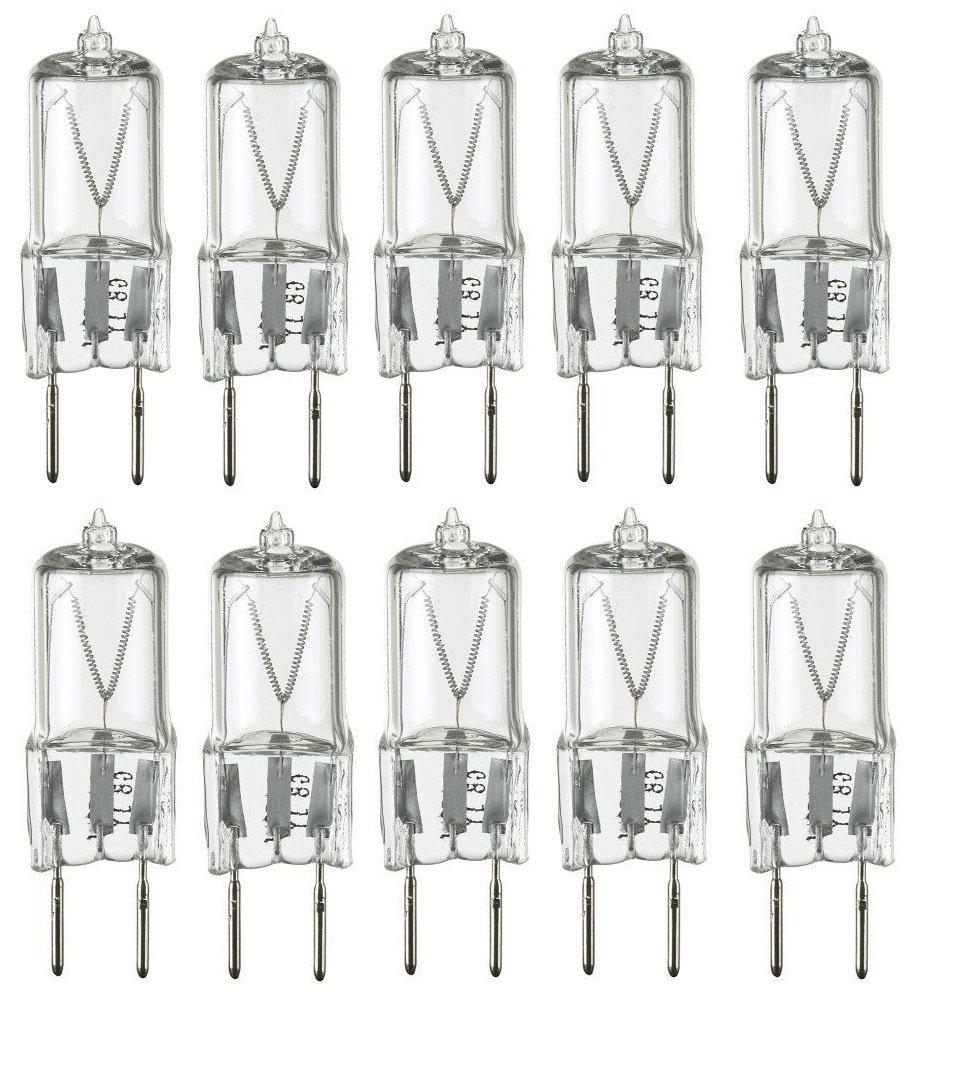 10Pack - 20 Watt Xenon G8 120V T4 Light Bulbs G8 base 120 volt JCD Type