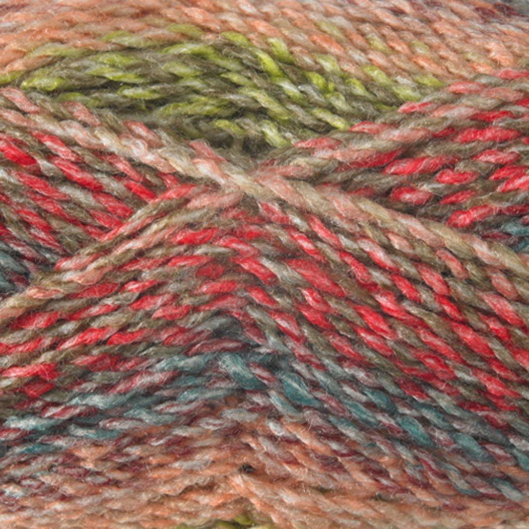 Green Yellow /& Red Mix MC7 James Brett Marble Chunky Knitting Yarn 100/% Soft Acrylic Wool 200g Ball