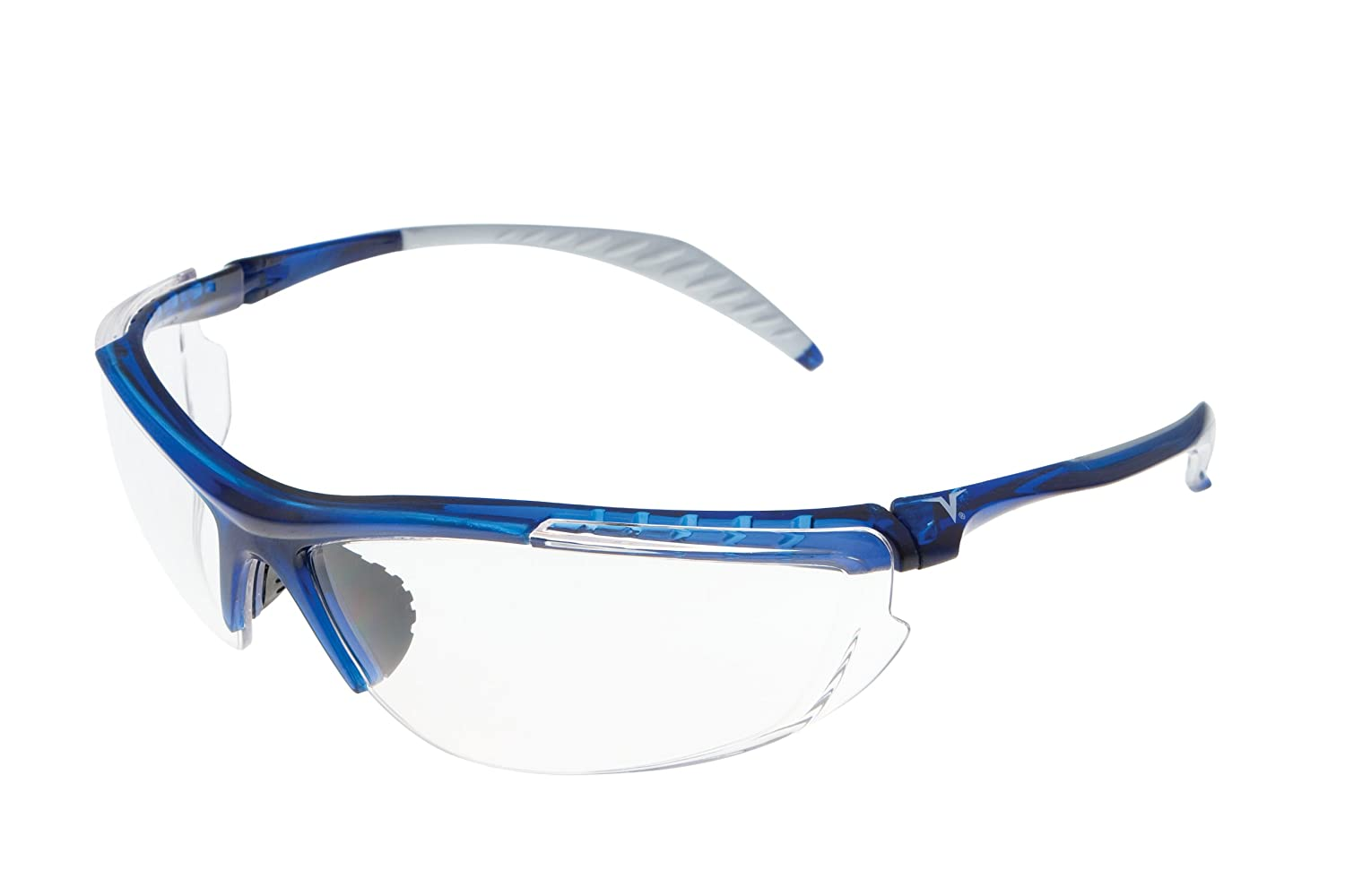 Sellstrom 70301 Dyno-Mites Kid Series Small Red White and Blue Frame Clear Lens Protective Eyewear with Adjustable Temples (Pack of 12) by Sellstrom B005I4G6ZG