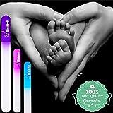 Minipiggy Baby Nail File 3 Pack Infant Glass Nail