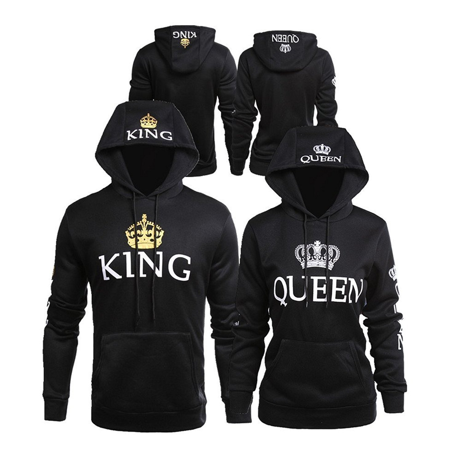 f0f64858 You get TWO hoodies in this deal - one for HIM and one for HER!!! Sizes:  Her Sizes S-XL/ His Sizes M-2XL-(more details in the