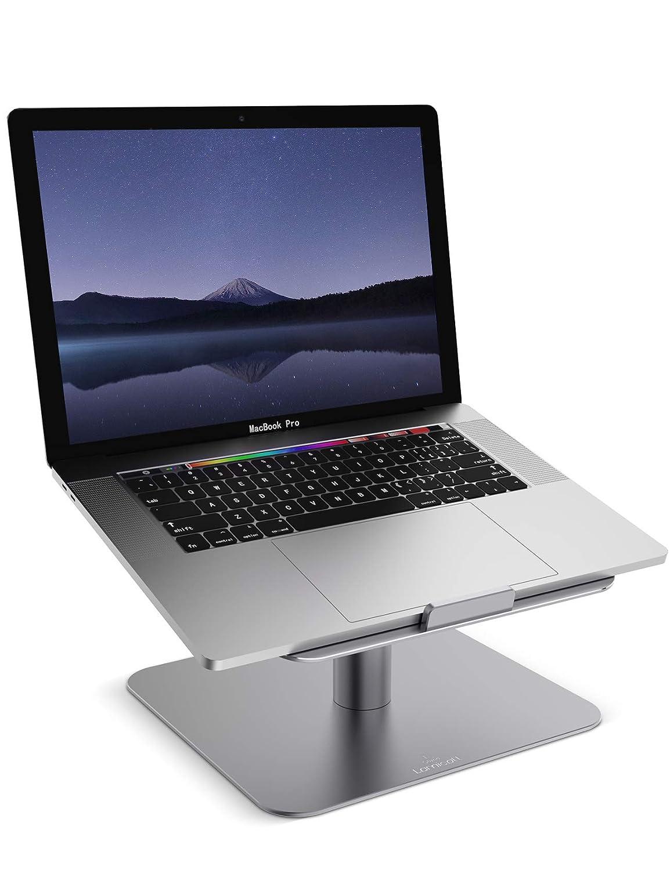 Supporto per PC Portatile, Lamicall Supporto Laptop Notebook : Regolabile Supporto Stand Dock per Apple 2018 MacBook, MacBook Air, MacBook Pro, Dell XPS, HP, Samsung, Lenovo, altri 10~17 Notebooks - Grigio L-EU-G