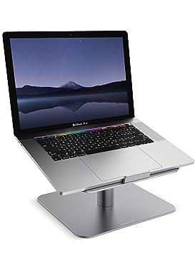 Lamicall Soporte para Portátil, Multiángulo Soporte : Soporte Base Ajustable para Portátil para 2018 DELL, HP, Samsung, Lenovo y más 10
