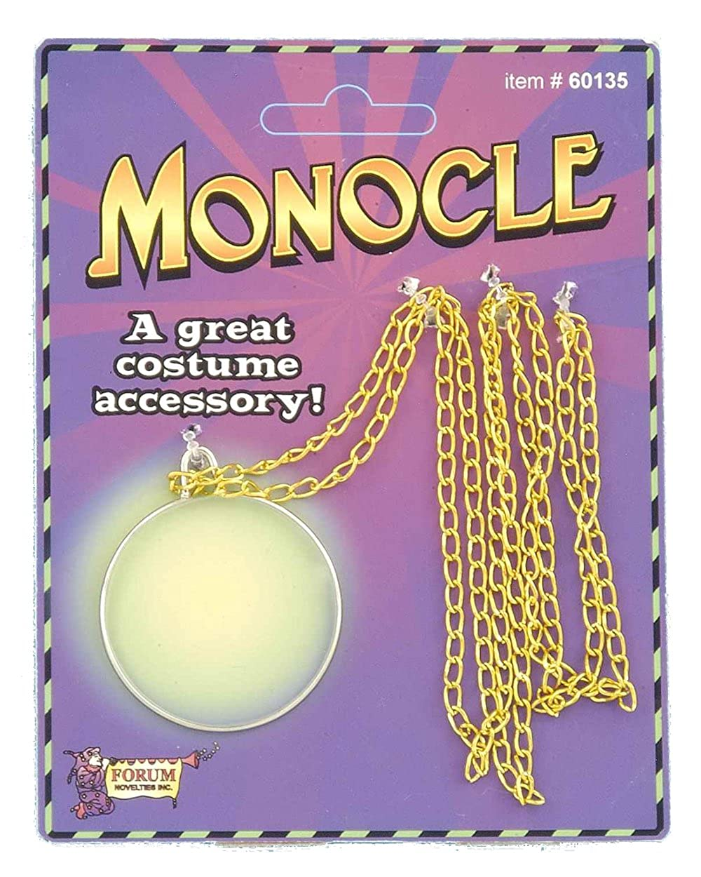 Old Western Steampunk Cowboy Deluxe Monocle Eye Piece Costume Accessory Forum Novelties FN60135