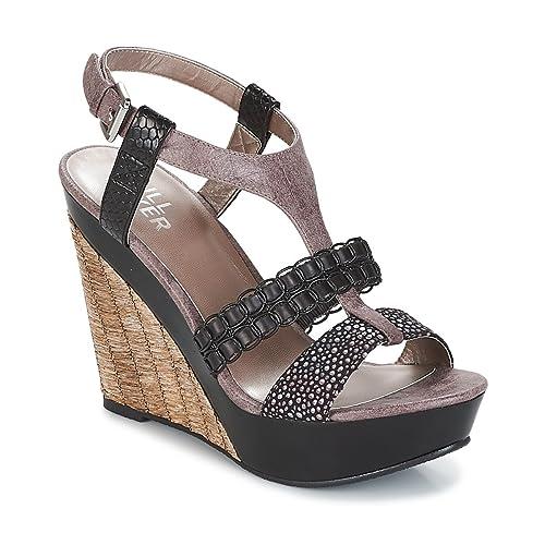 bullboxer sandalen damen schwarz bilder