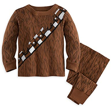 Star Wars Chewbacca Costume PJ Pals Pajamas For Baby 6-9 MO