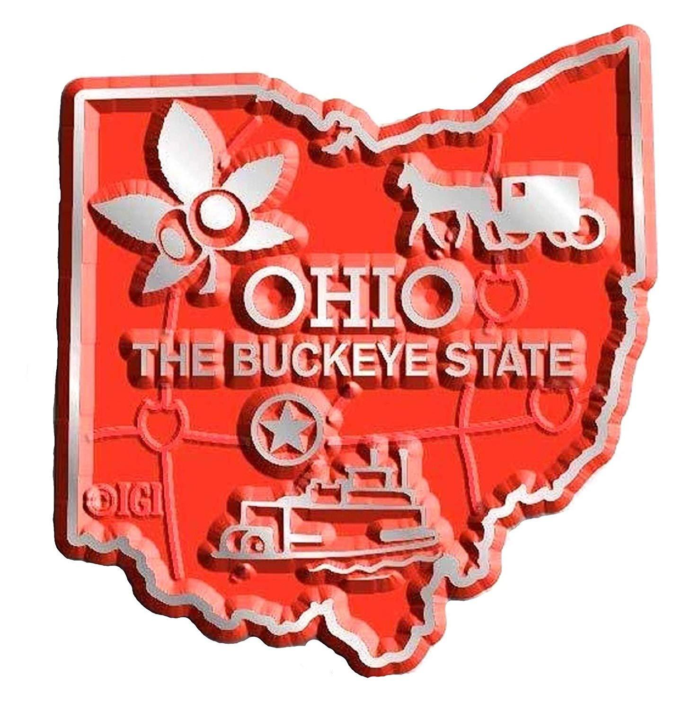 Ohio Columbus United States Fridge Magnet