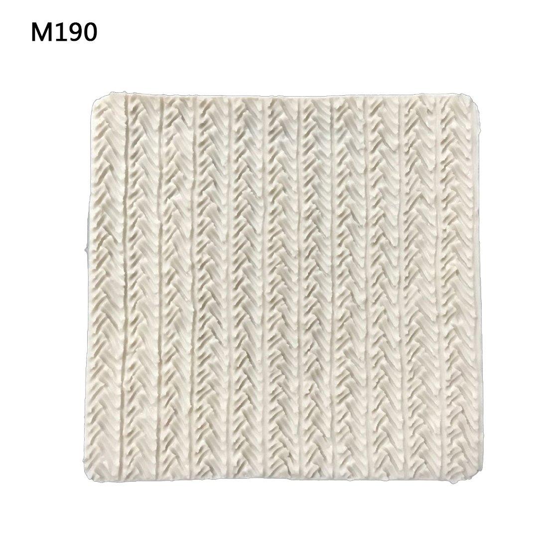 Pullover-Textur Silikonkompatibel mitm für Tortendekorationen #1