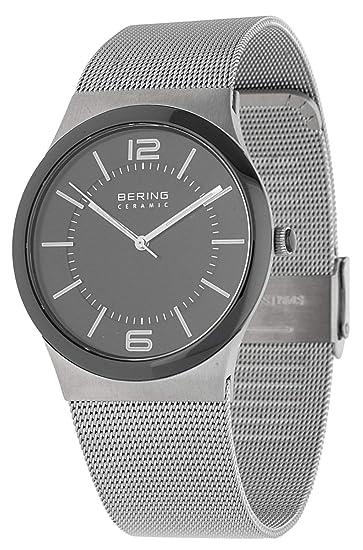 Bering Hombre Reloj de pulsera Ceramic Plata 32239 - 000 - 1: Amazon.es: Relojes