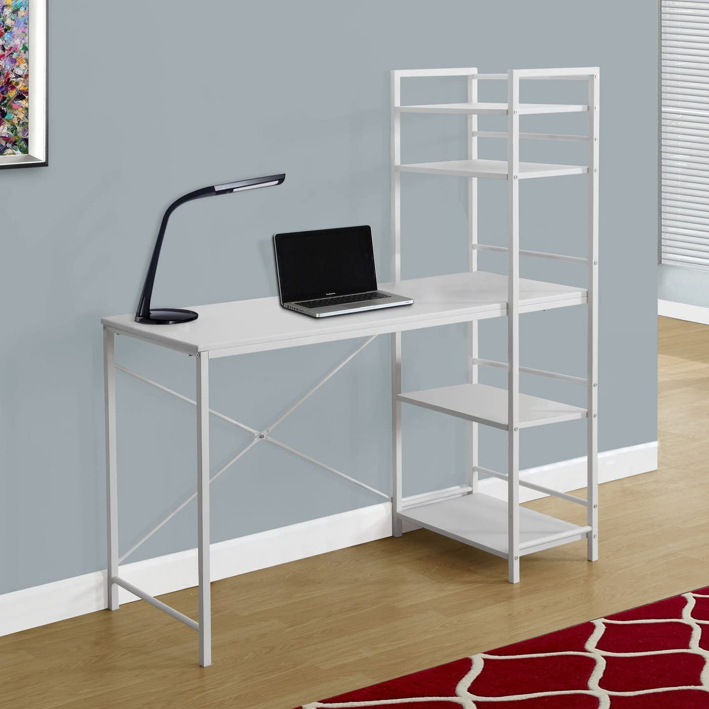 Reviewed: Monarch Specialties Study Workstation