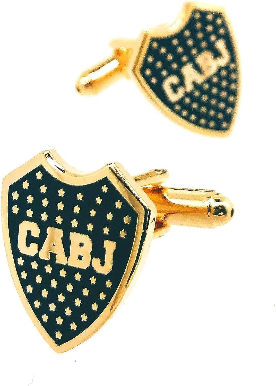 Gemelos para camisa Club Atlético Boca Juniors 17 mm: Amazon.es: Ropa y accesorios