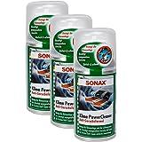 SONAX Limpiador desinfectante de Aire Acondicionado, Set 2 x 150 ML, con Aroma Fresco, Color Verde limón Antibacteriano: Amazon.es: Coche y moto
