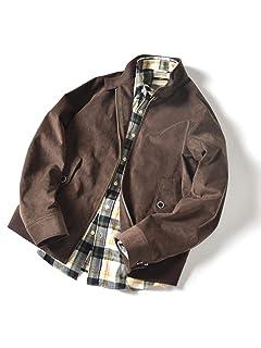 Ultrasuede Blouson 114-34-0020: Brown