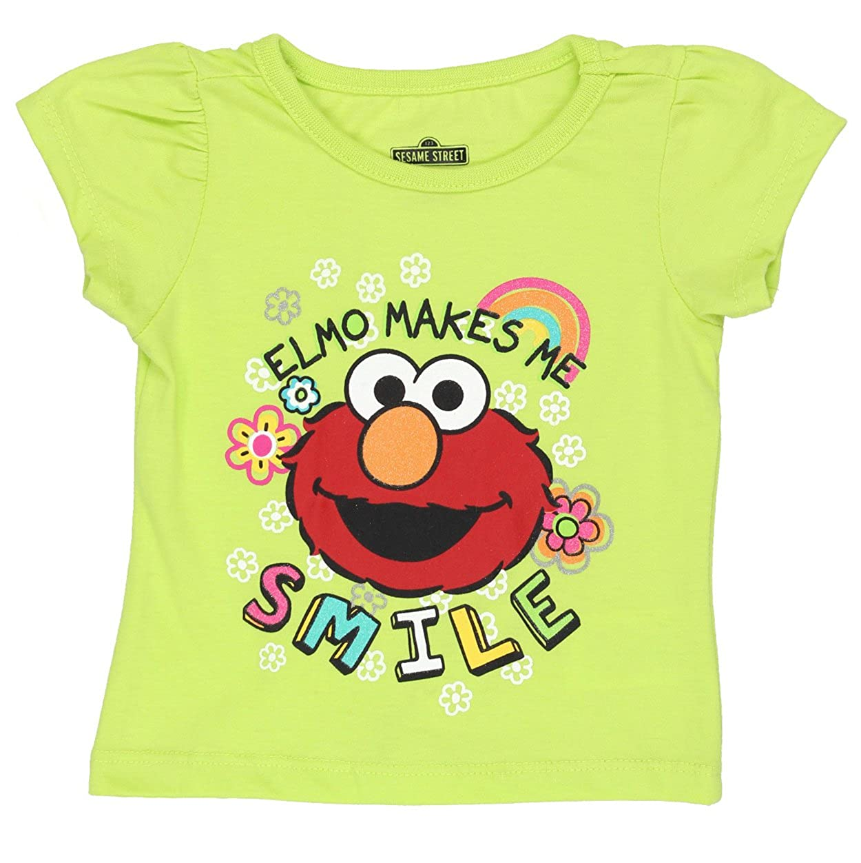 1a545574 Your little one will be as cute as Elmo wearing these Sesame Street t-shirts!  These Sesame Street tops feature vibrant colors, ribbed-knit collar, ...
