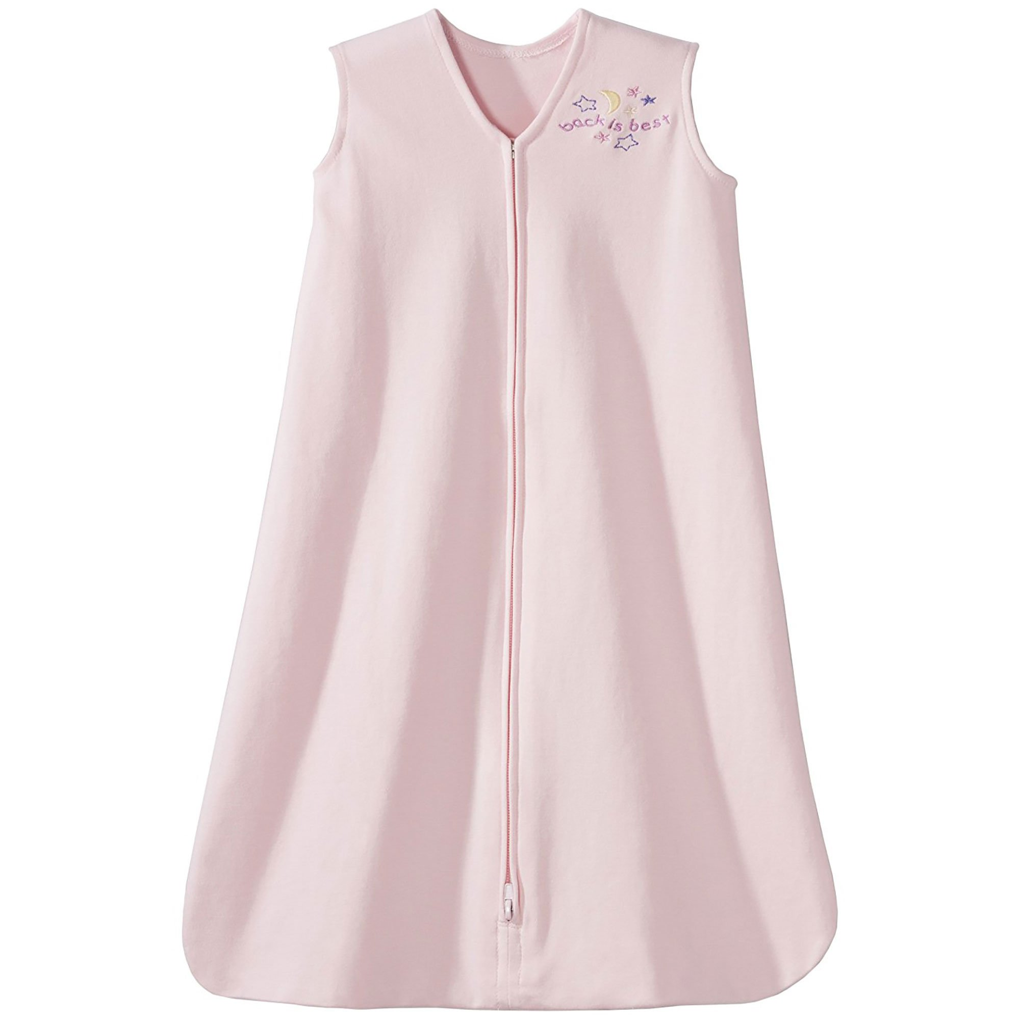 HALO SleepSack 100% Cotton Wearable Blanket, Soft Pink, X-Large