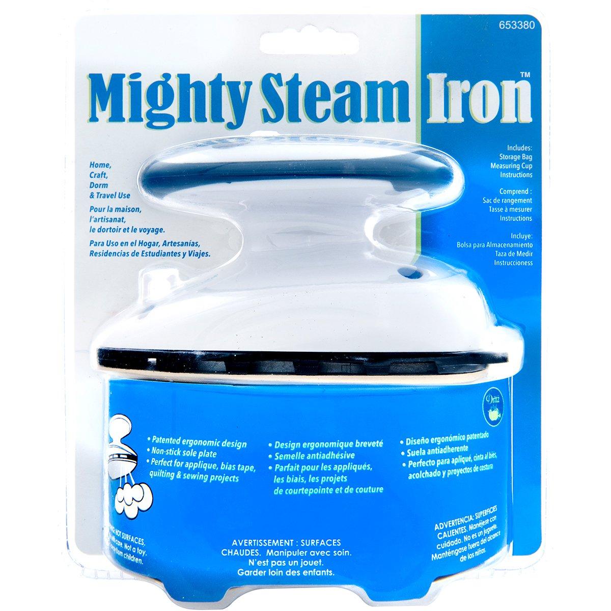 Dritz 653380 Travel Steam Iron Mighty Travel Iron Steam Iron Prym Consumer 333315170