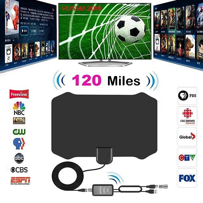 Review 120 Miles Antena Digital