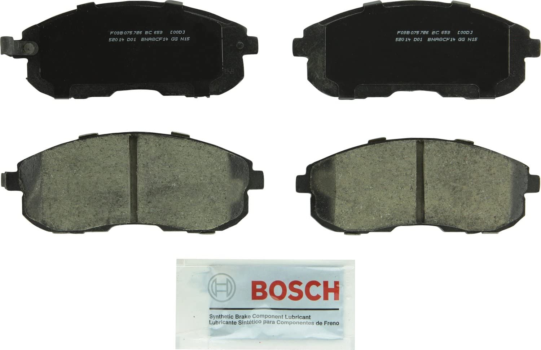 Rear Ceramic Brake Pad Set For Suzuki SX4 2007-2008