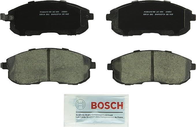 Rear Ceramic Brake Pads for 1991-2000 Infiniti G20 I30 Nissan Altima Maxima