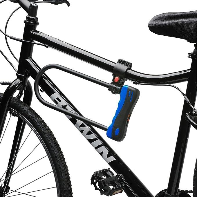 Grillete en D Target Locks® resistente para bicicletas de