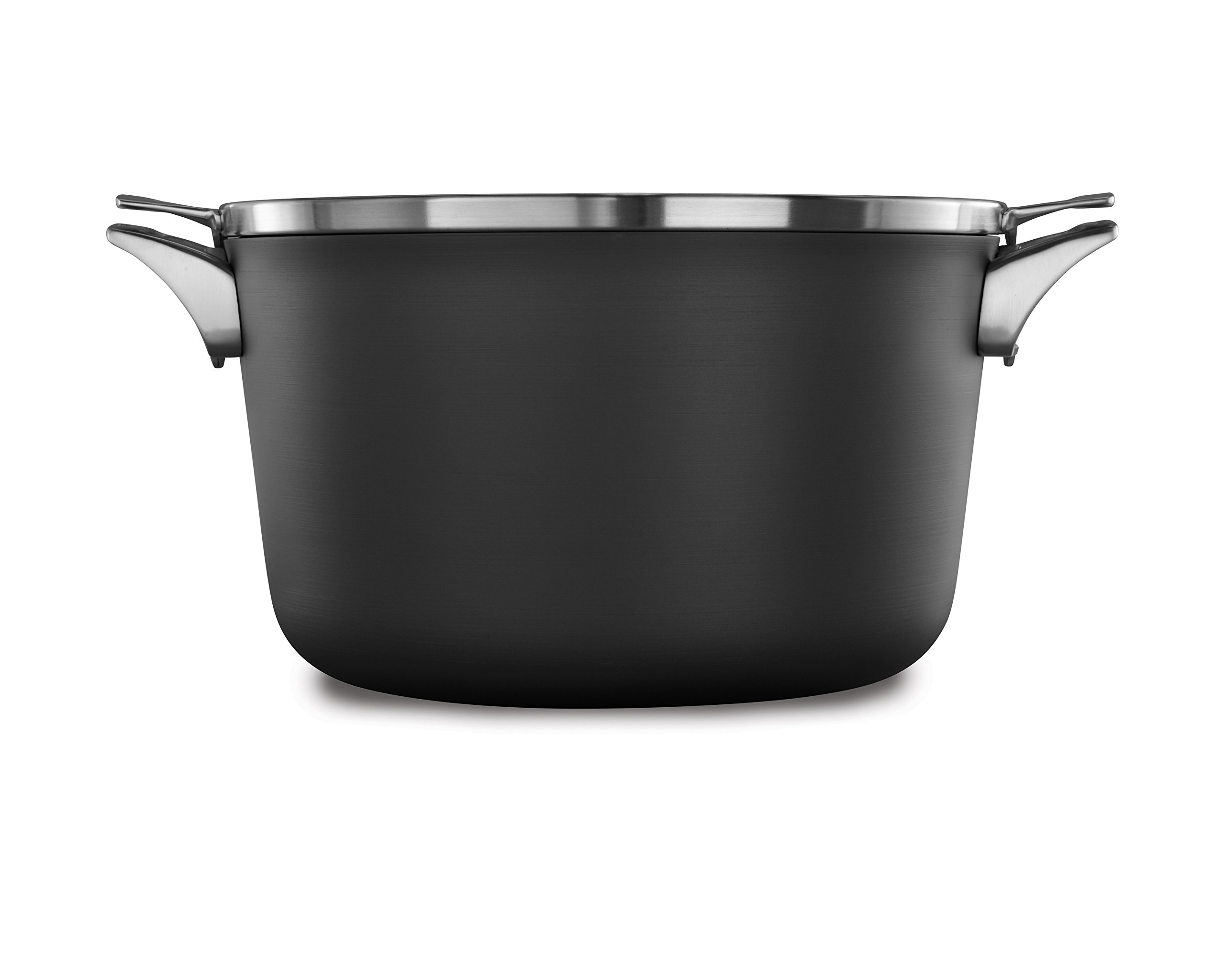 Calphalon Premier Space Saving Nonstick 12qt Stock Pot with Cover