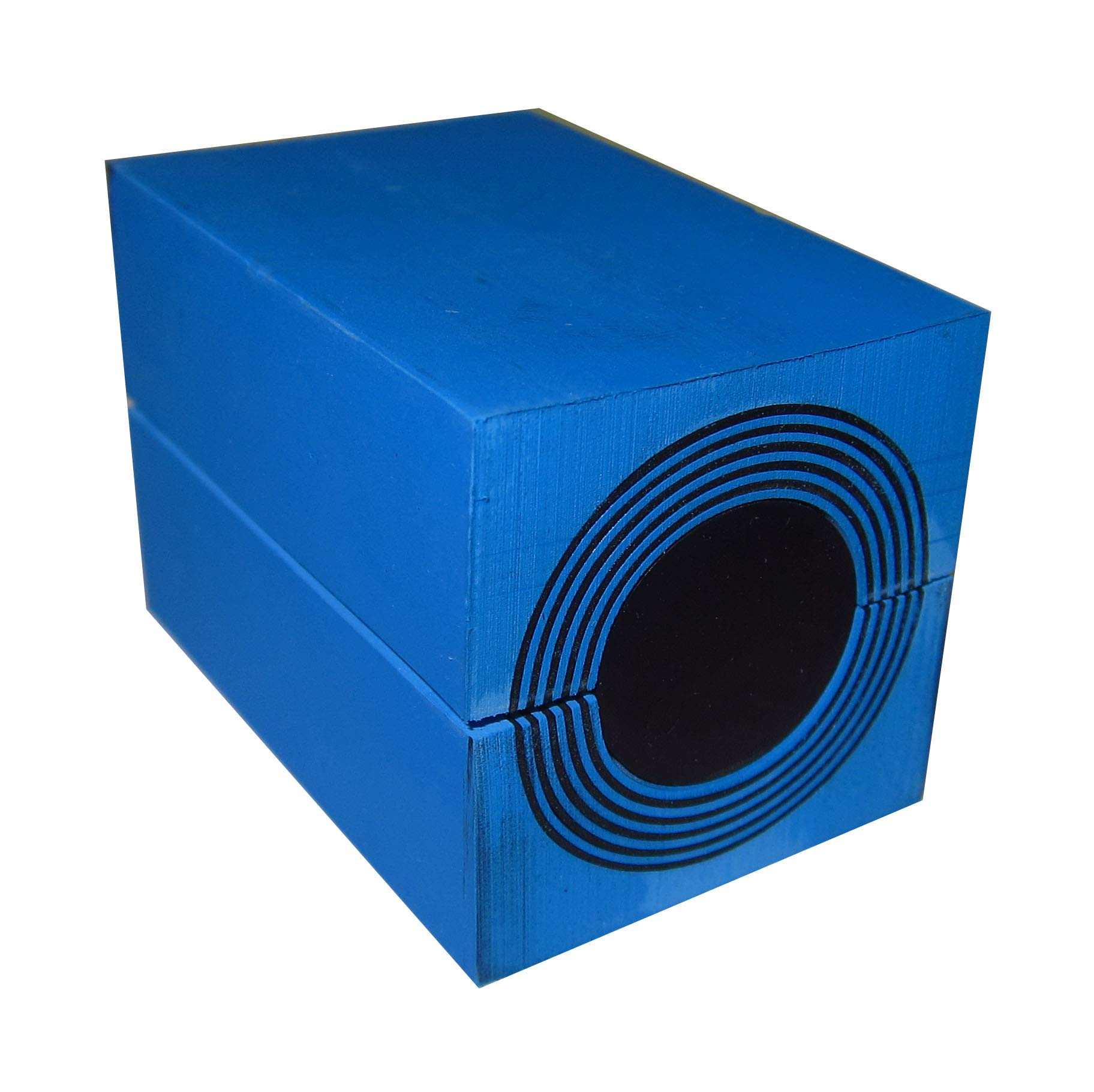 ROXTEC RM00100401000 RM 40, 40 X 40 X 60X MM, with MULTIDIAMETER, (Each), Sealing Module, 2.362 INCH DEEP, for ONE Cable OR Pipe / 21.5-34.5 MM