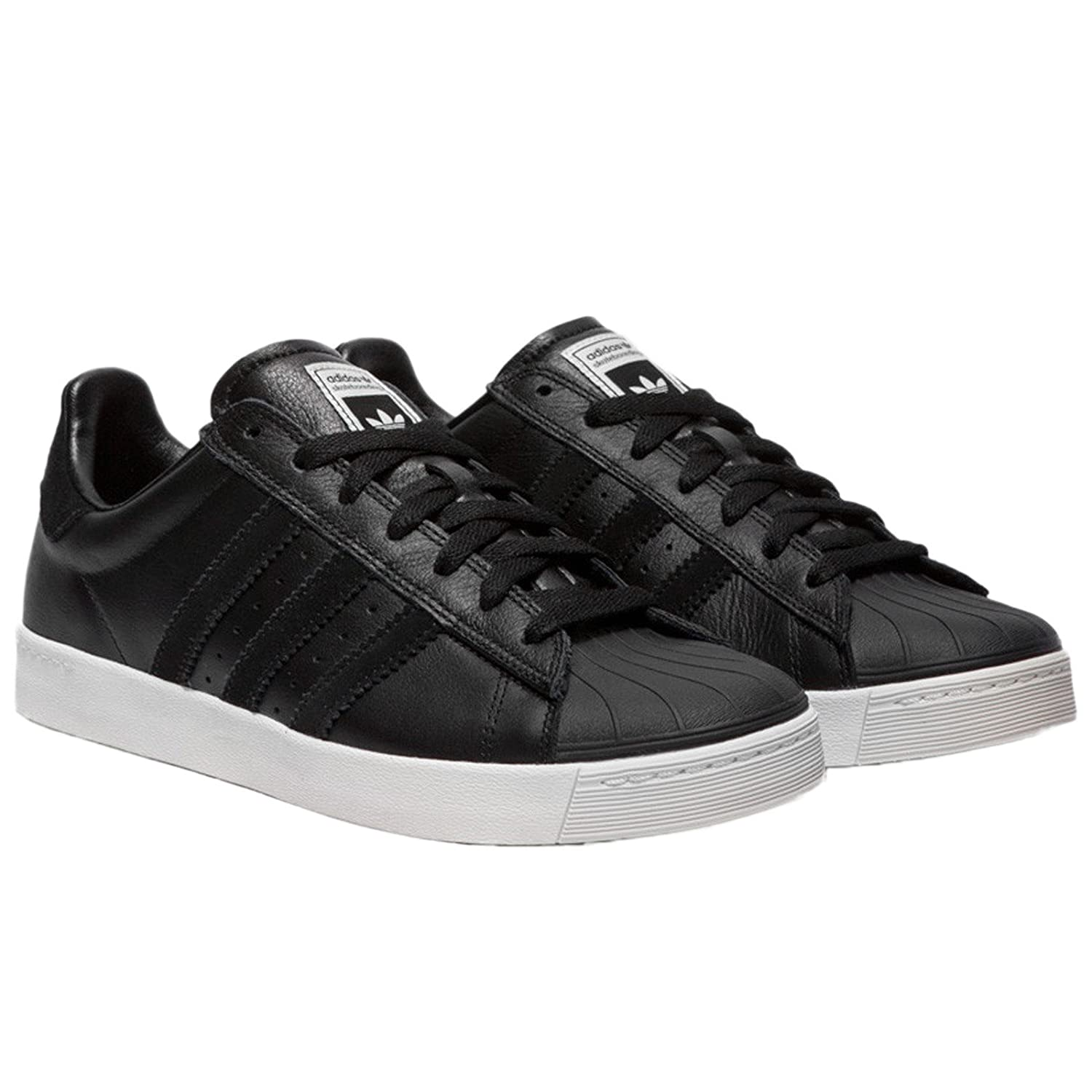check out 932c8 1ea0a Adidas Superstar Vulc Adv nero scarpe scarpe scarpe da ginnastica - Scarpe  Da Ginnastica Nere In Pelle ...