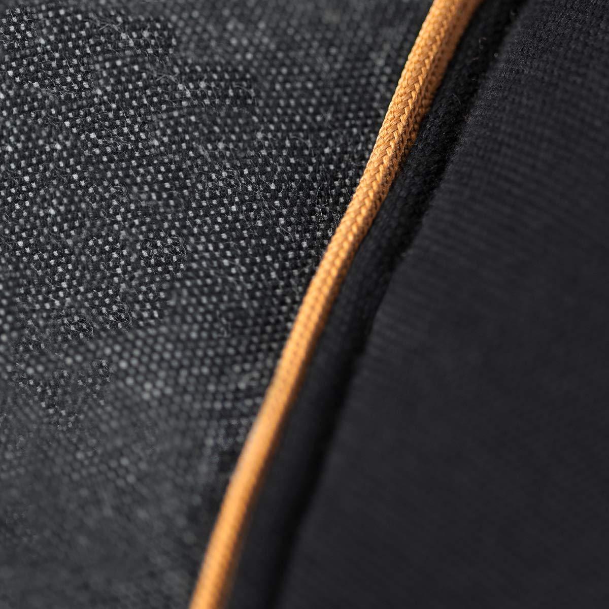schwarz//toffee-braun Verstellbarer Sitz Bio-Baumwolle f/ür Babys /& Kinder von 3,5 bis 20 kg manduca Babytrage XT All-In-One//Cotton denim-black//Ergonomische Babytrage und Neugeborenen-Trage