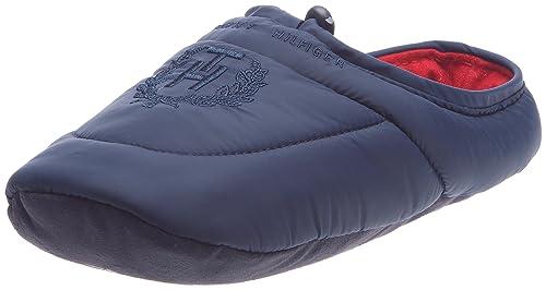 Tommy Hilfiger - Zapatillas de Estar Por Casa Hombre, Azul (azul marino), 43-44: TOMMY HILFIGER: Amazon.es: Zapatos y complementos