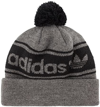 cc163b2605f Amazon.com  adidas Men s Originals Pom Beanie