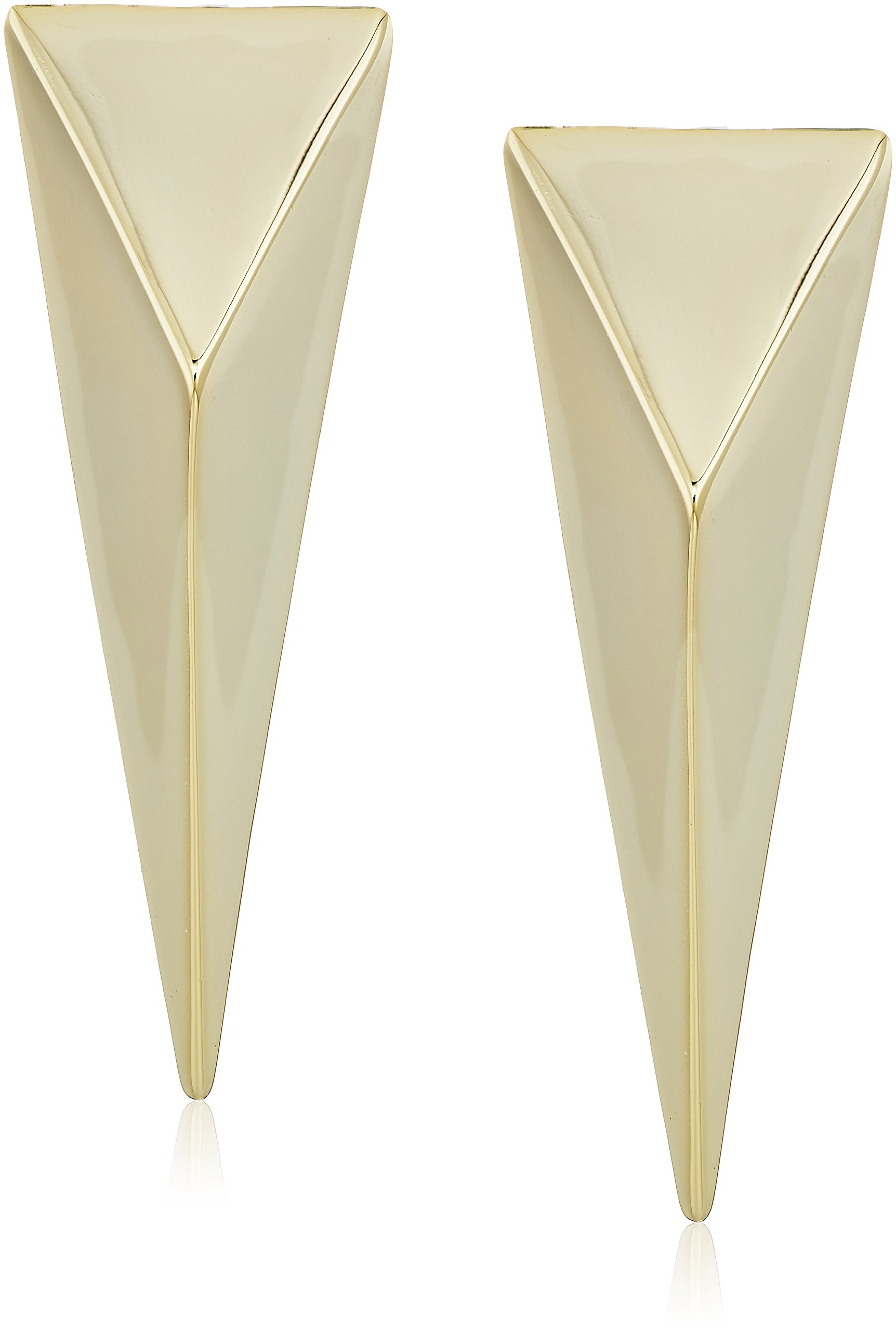 Alexis Bittar Fall 2017 Extra Large Pyramid Clip-On Earrings
