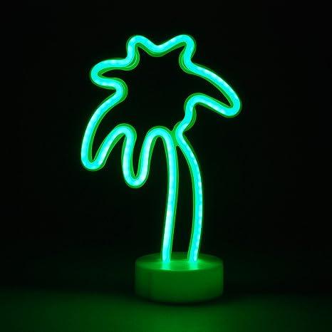 Luci Al Neon Per Ufficio.Simpa Led Luce Al Neon Angelo Cuore Cactus Fenicottero