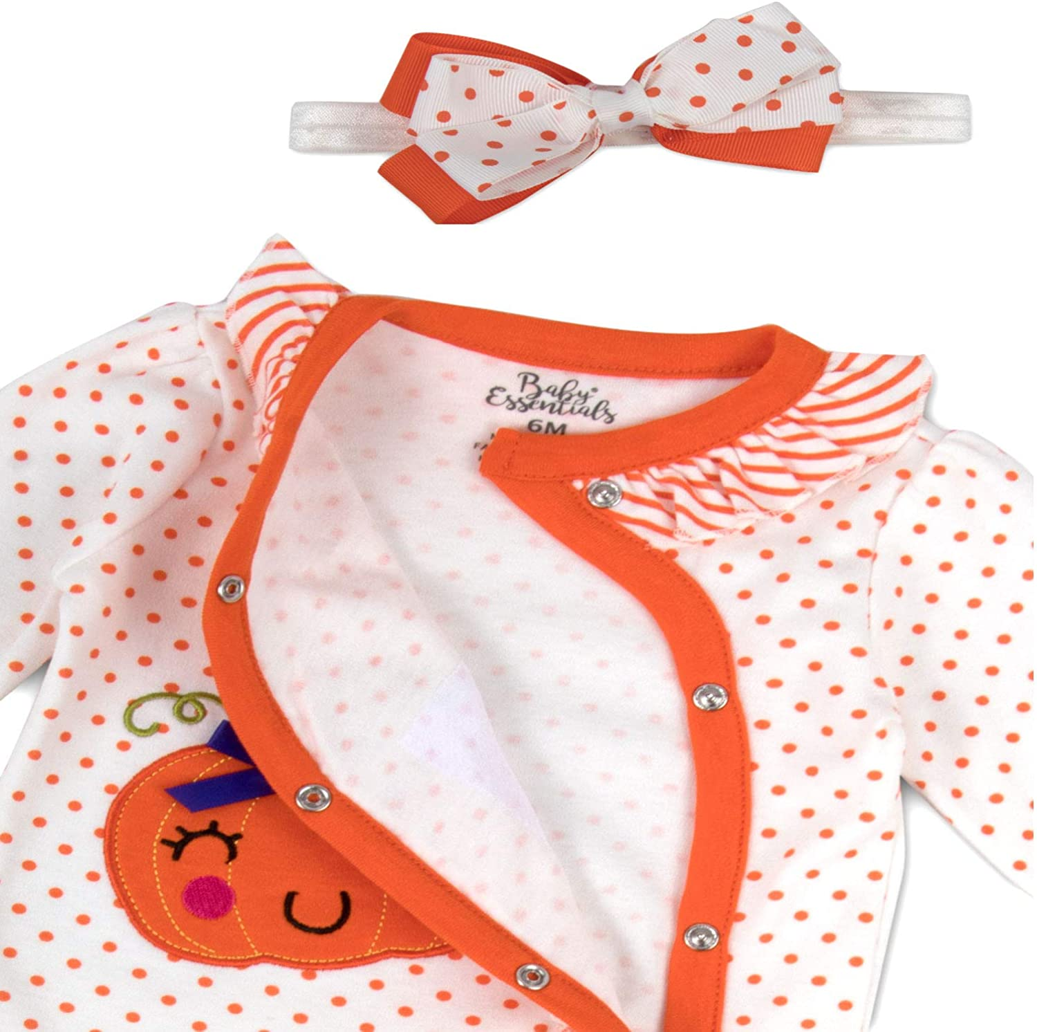 Thanksgiving Pajamas for Baby Layettes for Baby Girl in 2 Piece Coverall Set
