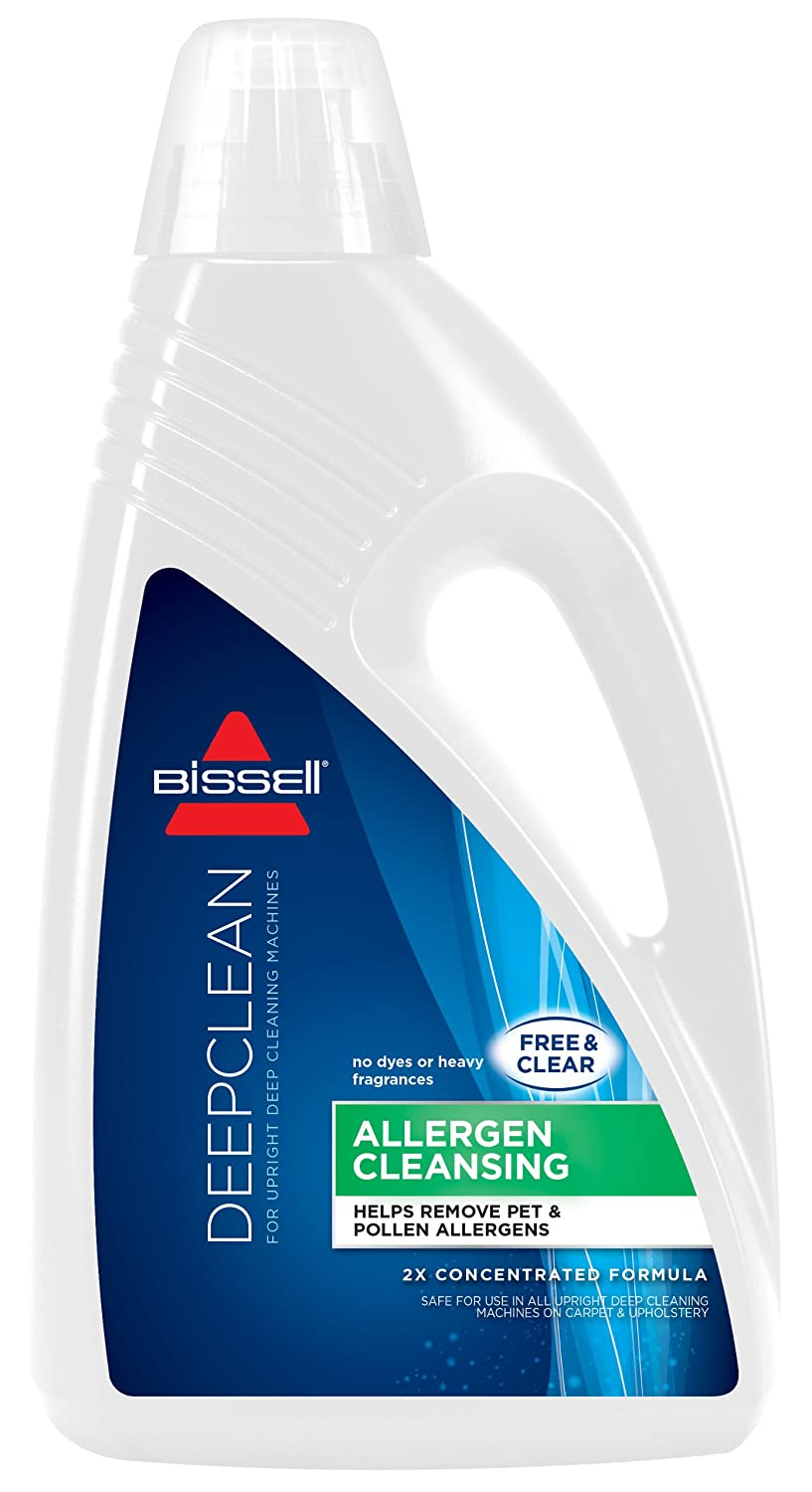 BISSELL 2X Allergen Cleansing Full Size Machine Formula, 60 ounces, 89Q5D