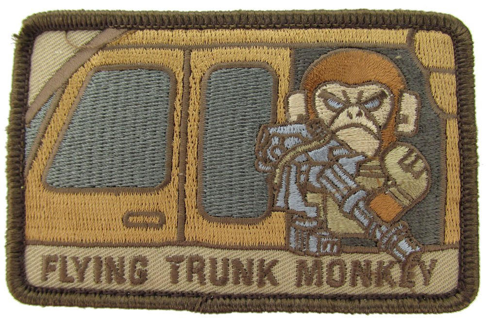 MIL-SPEC Flying Trunk Monkey Patch Desert