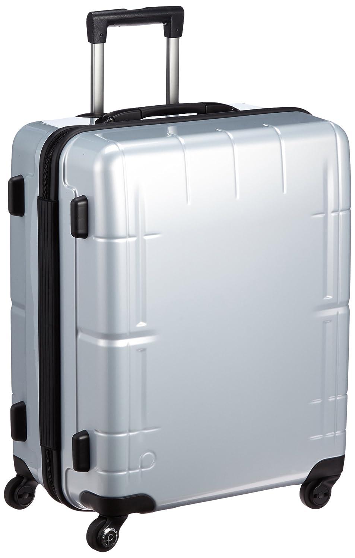[プロテカ] 3年保証付 日本製スーツケース スタリアV 66L保証付 66L 55cm 4.0kg 02643 B01BTQW5AQ シルバー シルバー