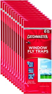 Catchmaster 904-12 Clear Window Fly Trap, 12-Pack