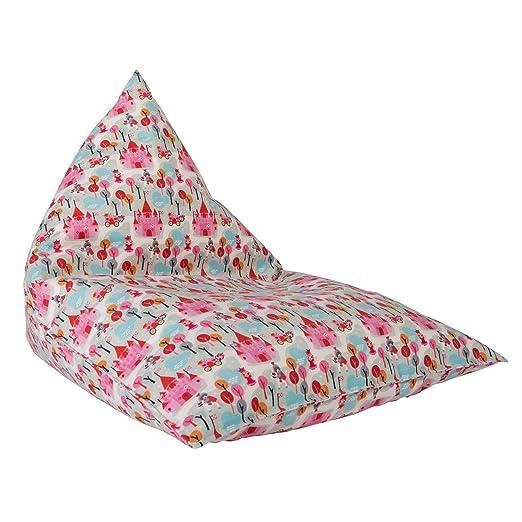 Lounge Pug®, Puff Pera Relajarse para niños, Estampado ...