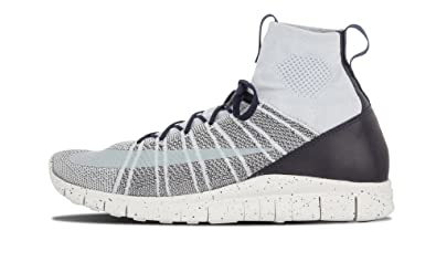 buy popular 9d473 55825 NIKE Free Flyknit Mercurial CR7 805554-001 Pure PlatinumWhiteDark Grey  Mens