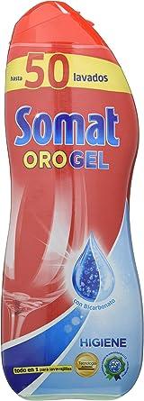 Somat Oro Gel Lavavajillas Higiene 50 Lavados 900 Ml Amazon Es Alimentación Y Bebidas