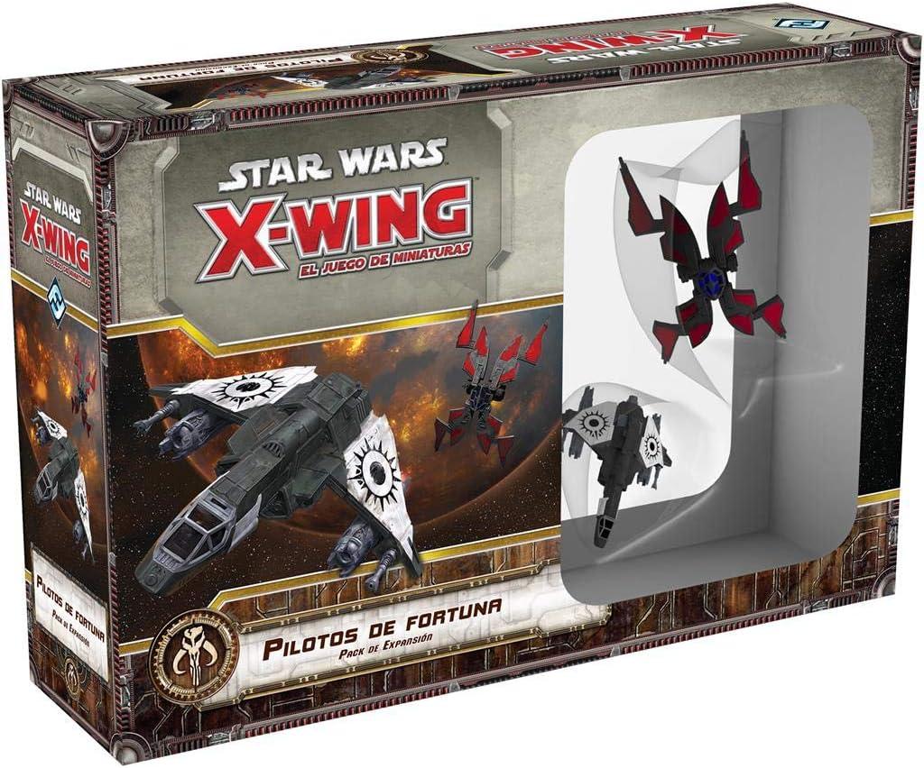 Fantasy Flight Games- X-Wing, Pilotos de Fortuna (FFSWX73): Amazon.es: Juguetes y juegos