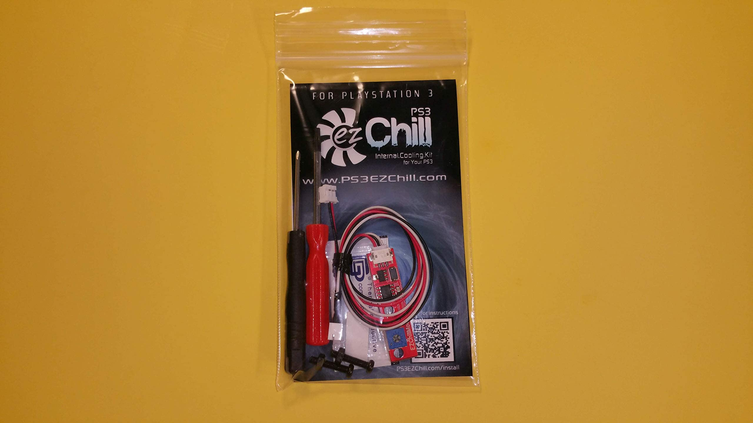 Amazon com: EZ Chill PS3 BEST Cooling Fan Controller Mod Kit