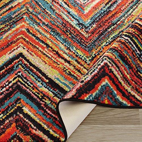 Usa Free Shipping Ottomanson Rainbow Collection Non Slip