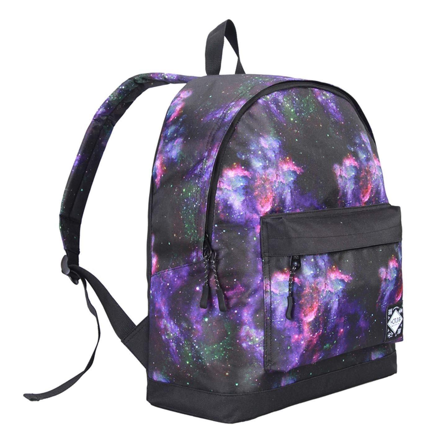 Galaxy  Purple Hot Tuna Galaxy Backpacks Rucksack Backpack Bag Daypack H 40 x W 28 x D 12 (cm) Galaxy  orange