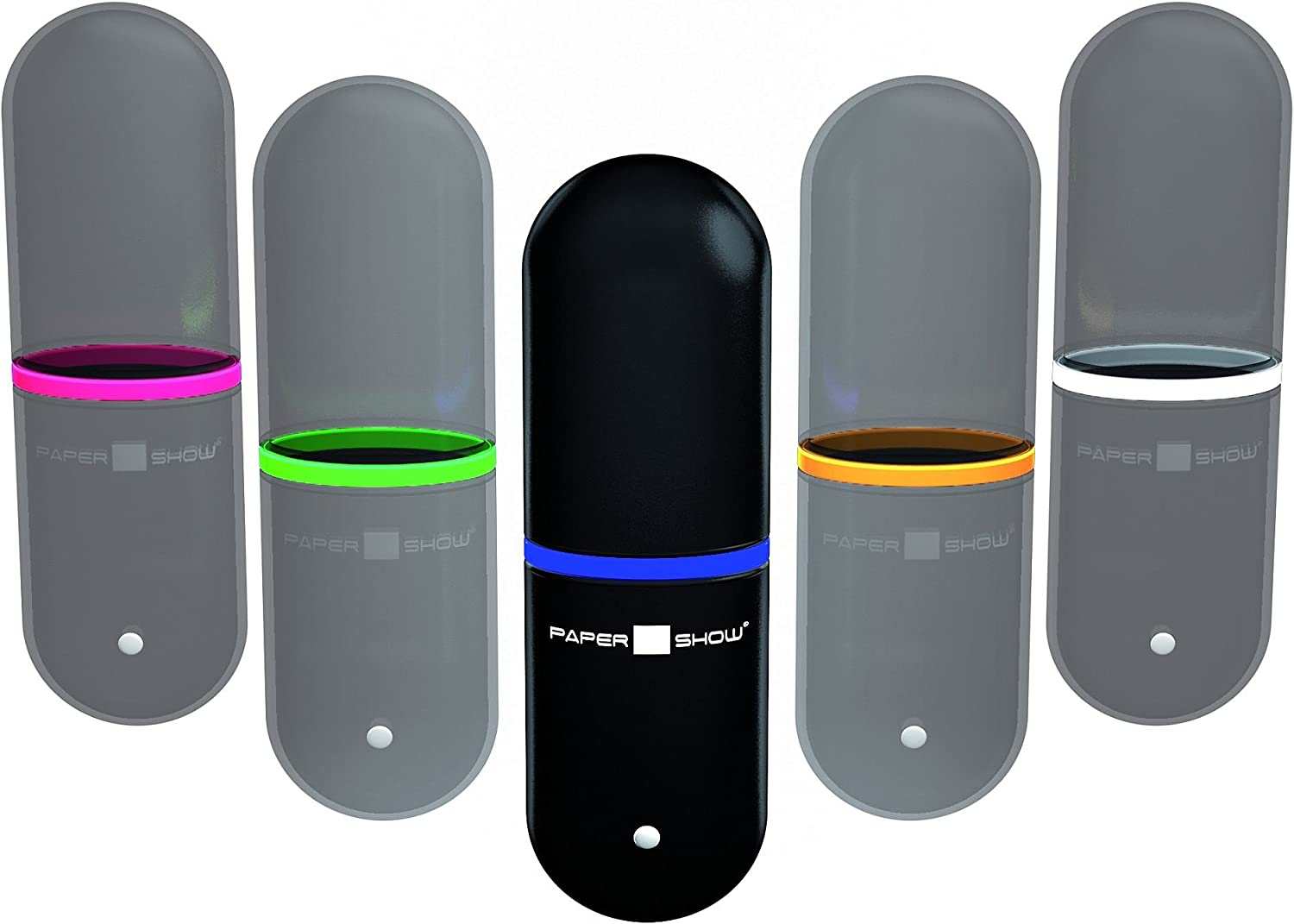 PaperShow USB Key Includes Set of 4 Color Rings