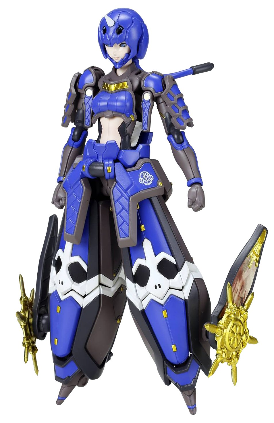 Indigo Guardian Shiki Plastic Model Kit Kotobukiya Phantasy Star Online 2