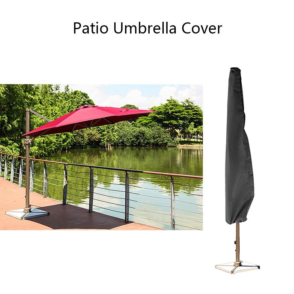 Outdoor Patio copertura dell'ombrello del giardino del mercato Ombrellone impermeabile di copertura copertura dell'ombrello di immagazzinaggio del sacchetto della chiusura lampo per 9ft a 11ft Ombrelli Vvciic