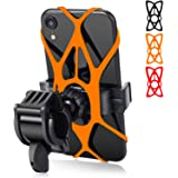 Bike Phone Mount - Trkimal Universal Adjustable Cell Phone Holder for Bicycle Motorcycle Compatible with iPhone Max Xr…
