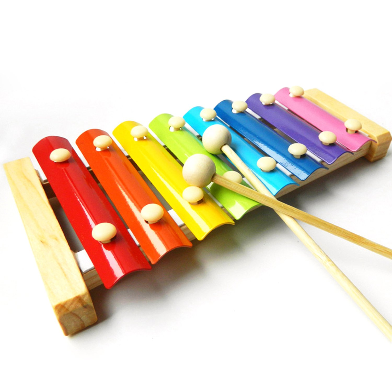 Amazon Wooden 8 Notes Xylophone Children Musical Toy Musical
