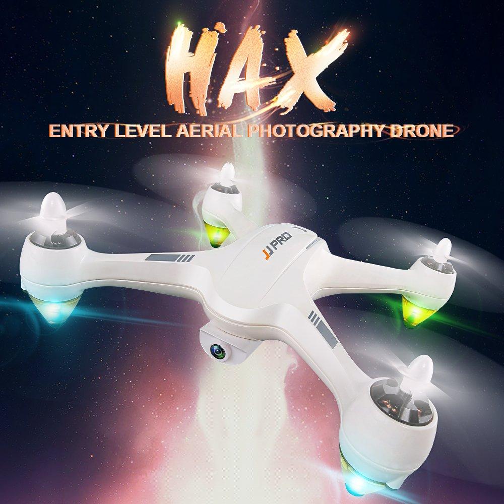 eclear Mini RC Drone FPV Wifi con HD 1080p cámara RTF control remoto Quadcopter altitud Hold plegable pequeño avión para adultos niños fotografía aérea Racing